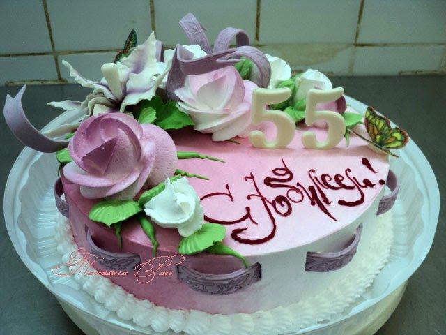 Как испечь красивый торт